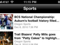 Portland Local News Free 1.0 Screenshot
