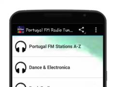 Portugal FM Radio Tuner 1.0 Screenshot
