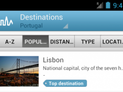 Portugal Guide by Triposo 4.5.7 Screenshot