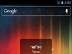 Portuguese Word the Day Widget 1.1 Screenshot
