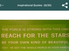 Positive Inspirational Quotes 1.0 Screenshot