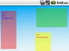 Post It Memo (Widget) 2.0 Screenshot