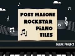 Post Malone Rockstar Piano Tiles 2.0 Screenshot