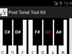 Post-Tonal Tool Kit 2.1 2.0 Screenshot