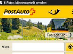 PostBus - Timetable, Tickets and Tours 2.0 Screenshot