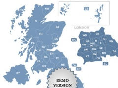 Postcode Map of UK 3.6 Screenshot
