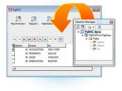 PostgreSQL Data Access Components 5.0 Screenshot