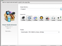 Power Audio Extractor 8.2.2 Screenshot
