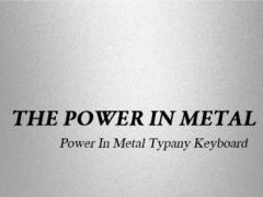 Power In Metal Typany Theme 2.2 Screenshot
