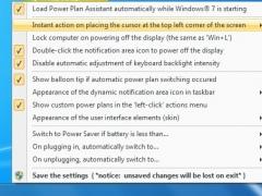 Power Plan Assistant for Windows 7 2.2a Screenshot