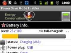 Power Save Mode Toggle 1.16 Screenshot