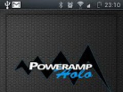 Poweramp Holo Widget 1.1 Screenshot