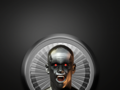Poweramp Widget Black Atlantis 2.08 Screenshot