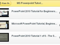 Powerpoint Tutorials 1.0 Screenshot