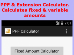 PPF Calculator - India Pro 7.0 Screenshot