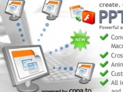PPT to Flash SDK for .NET ASP.NET COM 1.5 Screenshot