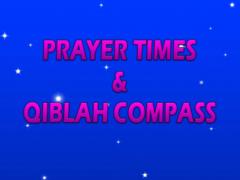 Prayer Times & Qiblah Compass 1.2 Screenshot