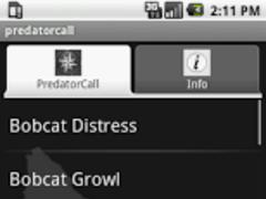Predator Calls 1.4 Screenshot