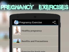 Pregnancy Women Exercises 1.0 Screenshot