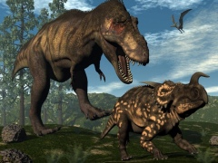 Prehistoric Dinosaur Puzzle 1.0 Screenshot