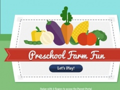 Preschool Farm Fun - Teach your child colors, counting, shapes and puzzles using yummy Vegetables! 1.0.3 Screenshot