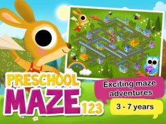 Preschool Maze 123 - Fun learning with Children animated puzzle game 2.3 Screenshot