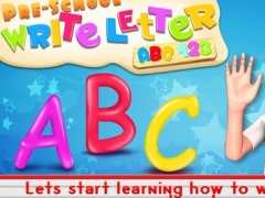 Preschool Write Letter - Hey Kids! Learn to Trace ABC Alphabet & 123 Numbers by Happy Baby Games 1.1 Screenshot