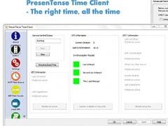 PresenTense Time Client for Windows 5.1 Screenshot