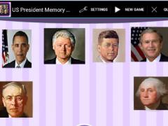 President Memory Game 1.0 Screenshot