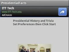 Presidential History 1.2 Screenshot