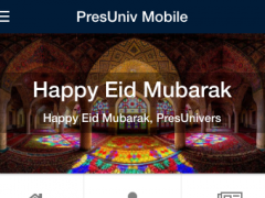 PresUniv Mobile 0.0.3 Screenshot