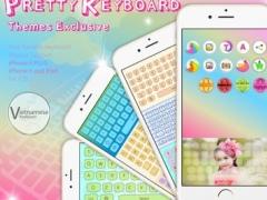 PrettyKeyboard ThemesExclusive Vietnamese language 2.1.2 Screenshot