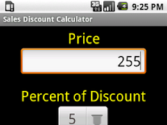 Price Discount Calculator 2.0 Screenshot