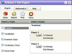 Primary 1 Test Papers 2 Screenshot