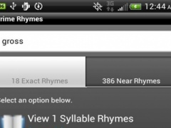 Prime Rhymes 1.5 Screenshot