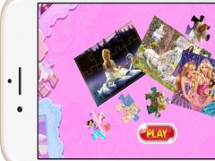 Princess Cartoon Jigsaw Puzzle Games for Kids and Toddlers Free 1.0.0 Screenshot