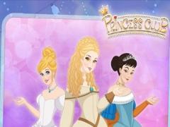 Princess Dress-up Fairy-tale : Cinderella story royal celebration salon make-up party games 7.0 Screenshot