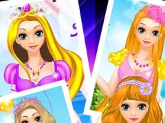 Princess Makeovers - Beauty Fairy Tales Salon 1.0 Screenshot