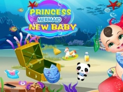Princess Mermaid New Baby-Beauty Pregnancy Check/Cute Infant Care 1.1.2 Screenshot