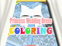 Princess Wedding Dress Coloring PRO - Magical Makeover Book 1.1 Screenshot