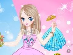 Princess Wedding Snow-Kids Games 1.0 Screenshot