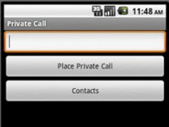 Private Call - Ad Supported 1.2 Screenshot