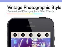Pro After Vintage Shutter Visual Creator - Photography Camera and Photo Editor 8.0 Screenshot