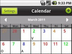 Pro-Calendar™ UFUA Shift Calen 1.51 Screenshot