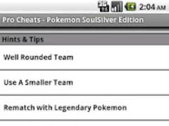 Pro Cheats: Pokemon SoulSilver 1.1 Screenshot