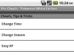 Pro Cheats Pokemon White Edn. 1.1 Screenshot