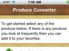 Produce Converter 1.5 Screenshot