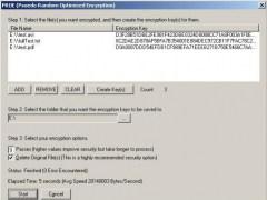 PROE Pseudo Random Optimized Encryption 64 Screenshot