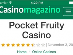 Professional Online Casino Reviews - Including Top Bonuses and Promotions | Casino Magazino 1.0 Screenshot