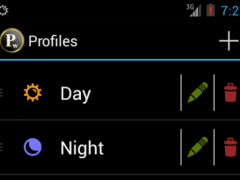 Profile Widget 5.3.1 Screenshot